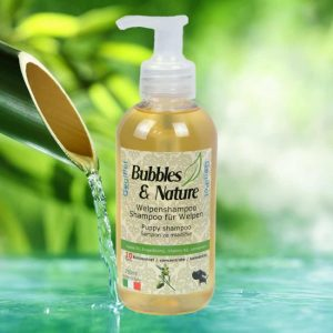 Naravni šampon za pasje mladičke