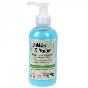 Naravni šampon za pse z belo dlako