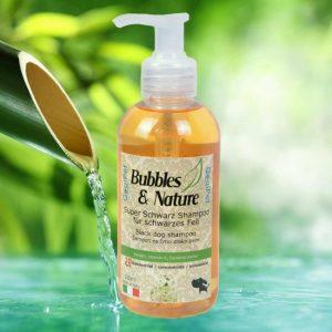 Naravni šampon za pse s črno dlako