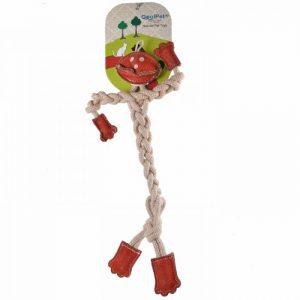 GogiPet® naravna igrača za pse – Človeček, velikost 41cm