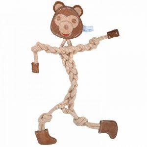 GogiPet® naravna igrača za pse - Šimpanz - 4