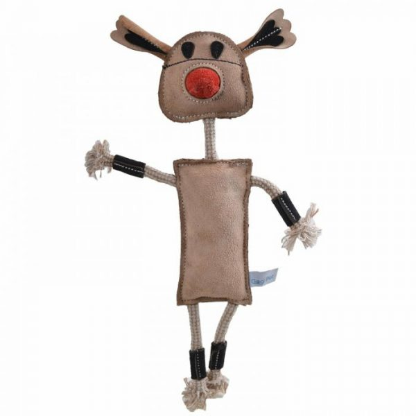 GogiPet® naravna igrača za pse – Kravica, velikost 40cm
