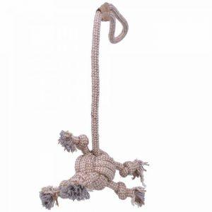 GogiPet® naravna igrača za pse - Vrv z žogo - 5