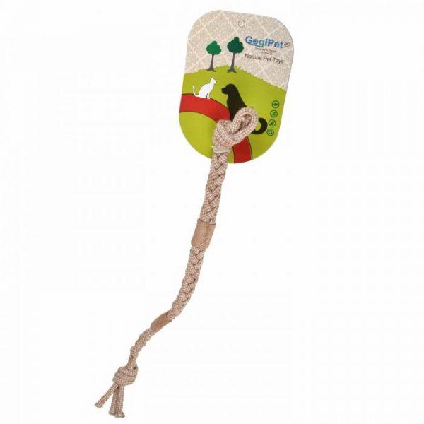 GogiPet® naravna igrača za pse - Vrv za nego zob - 6