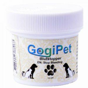 GogiPet prašek za zaustavitev krvavitve 1